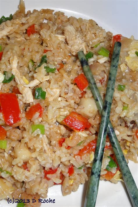 house special fried rice in the kitchen with nick house special fried rice