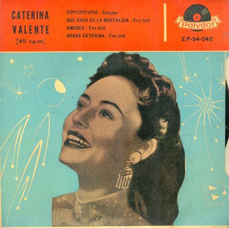 caterina valente sweet beat caterina valente caterina valente t