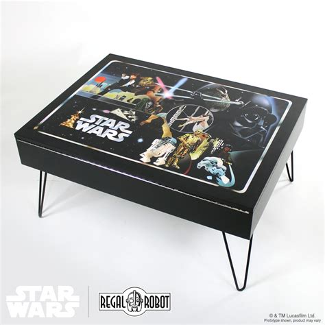 classic collector storage table regal robot
