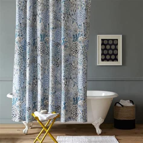 west elm shower curtain sarah cbell garden path shower curtain west elm