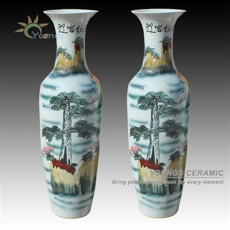 Cheap Big Vases by Big Famille Ceramic Floor Flower Vase For Wholesale