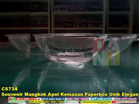 Mangkok Apel souvenir mangkok apel kemasan paperbox unik elegan souvenir pernikahan