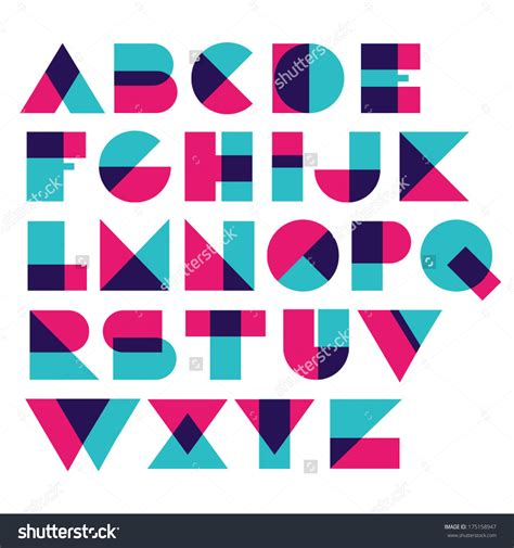 design system e font free image result for geometric font puzzle refs