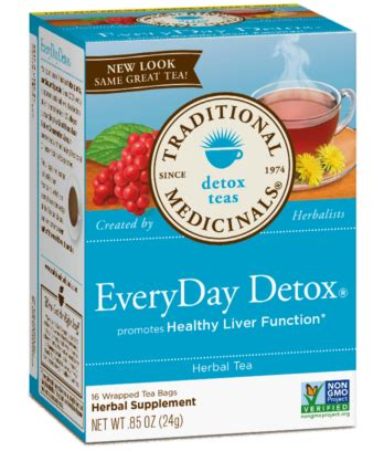 Resons To Detox Your With Dandelion by Everyday Detox 174 Traditional Medicinals Detox Teas