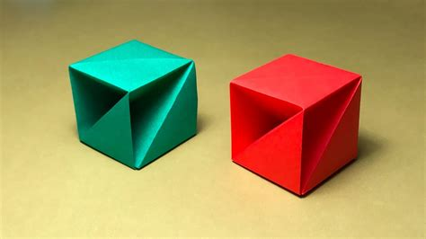 One Origami - origami box with one of paper