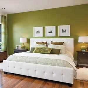 Impressionnant Couleur Zen Chambre Adulte #4: chambre-en-vert-et-blanc.jpeg