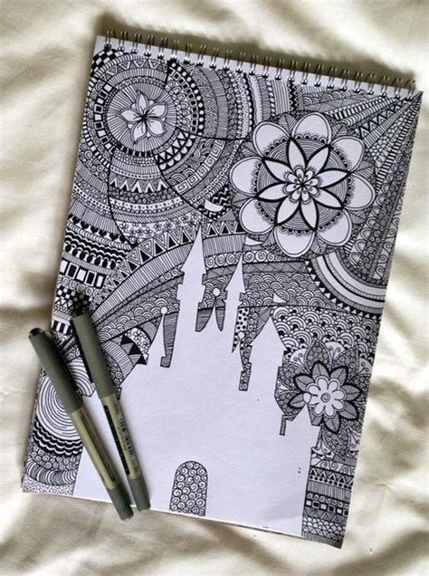 pattern drawing pinterest 40 absolutely beautiful zentangle patterns for many uses