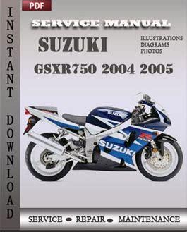 small engine repair manuals free download 2005 suzuki grand vitara navigation system suzuki gsxr750 2004 2005 repair manual download repair service manual pdf