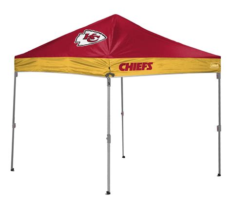 Tailgate Canopy Kansas City Chiefs 10 X 10 Coleman Canopy Tailgate Tent