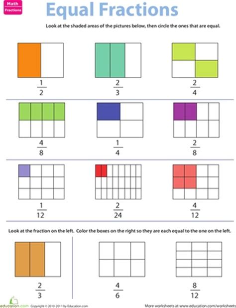 fraction wall game worksheet fractions worksheets 3rd 29 best images about fractions on pinterest bingo math