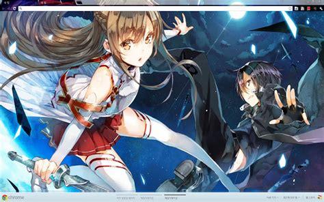 theme google chrome sword art online sword art online 1366 768 chrome web store