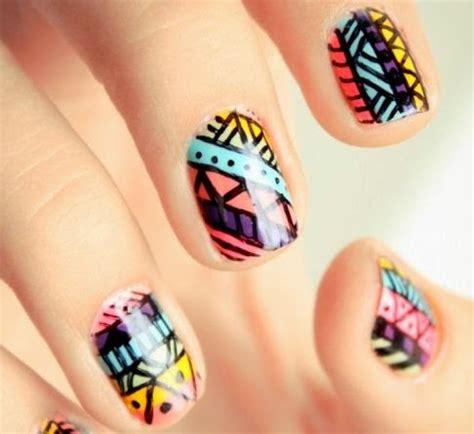 imagenes de uñas trivales los mejores dise 241 os tribales para u 241 as manoslindas com