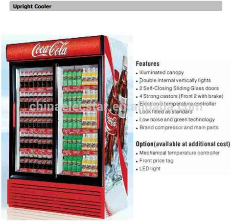 Soft Drink Holder Kulkas Spesial 2 doors display upright cooler showcase buy cooler