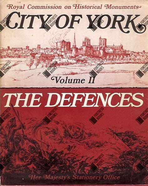 the archipelago volume ii books fortress books city of york volume ii the defences