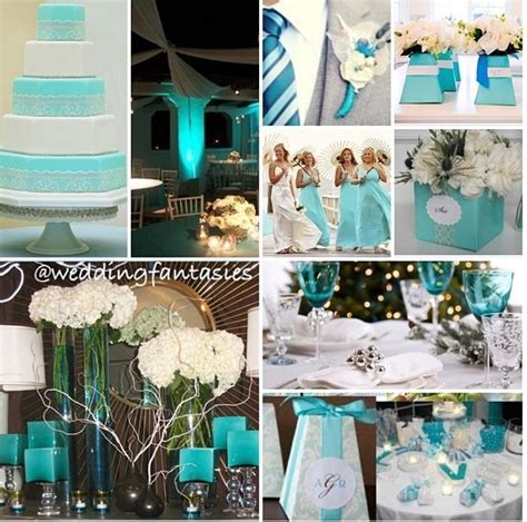 111 best Teal & ivory wedding images on Pinterest
