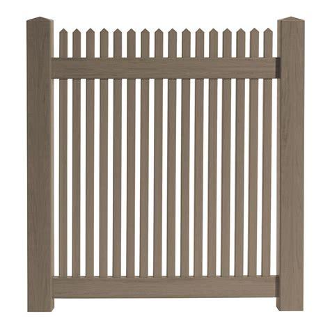 veranda zaun how to install a veranda vinyl fence gate kit the home