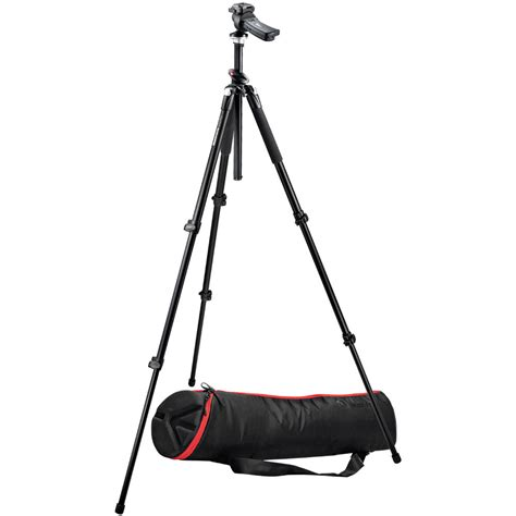 Tripod Manfrotto 055xprob manfrotto 055xprob 3 section tripod with 322rc2 055xprob 322k