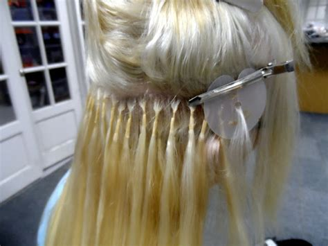 do glue in extensions damage your hair emtalks the best hair on the market bonded hair