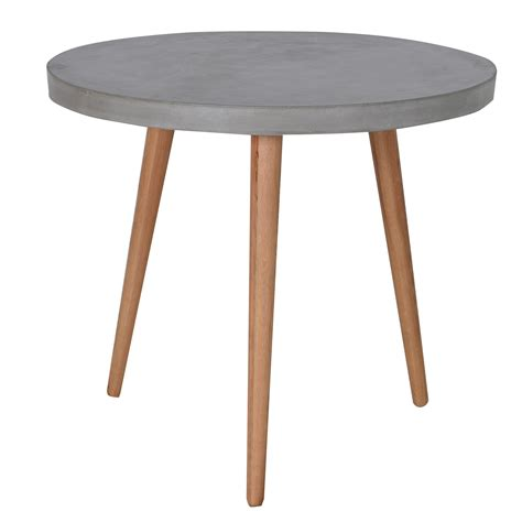 small black table l small concrete dining table