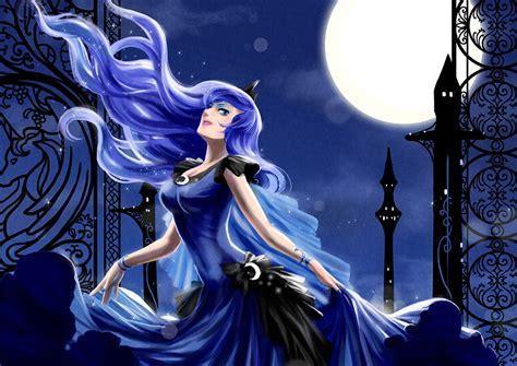imagenes anime luna princess luna human