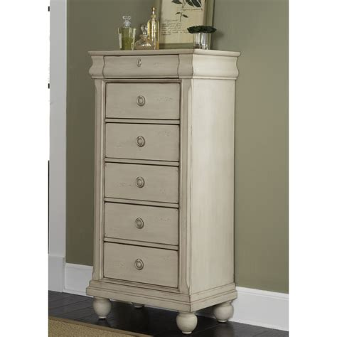 August Grove Pinesdale 5 Drawer Lingerie Chest & Reviews   Wayfair.ca