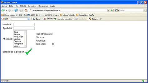 tutorial ajax wordpress introducci 243 n a ajax4jsf adictosaltrabajo