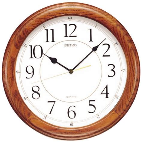 best large wall clocks customer best choice seiko clocks watch qxa129blh size