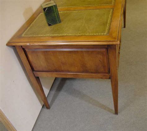 leather top writing desk english regency desk writing bureau leather top