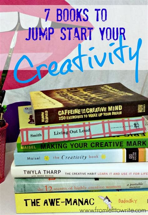 if you jump books 7 books to jump start your creativity from left to write