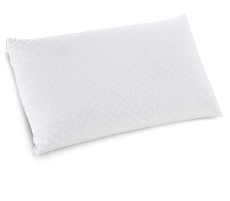 foam rubber bed pillows embrace firm ventilated latex foam pillow classic brands