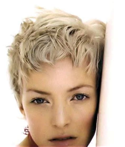 ash blonde pixie a short ruffled pixie style on ash blonde hair the pixie