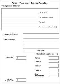 Tenancy Agreement Contract Template by Sle Tenancy Agreement Contract Tenancy Agreement