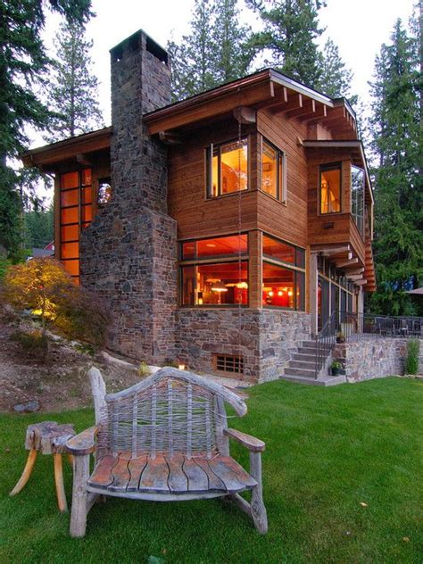 rustic contemporary homes cabin design pictures remodel decor and ideas page 8