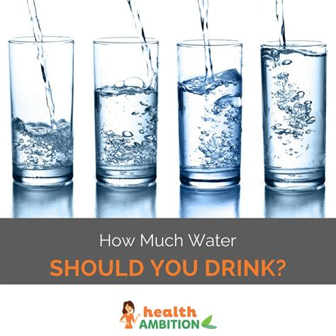 How Much Distilled Water Should I Drink To Detox by How Much Water Should You Drink