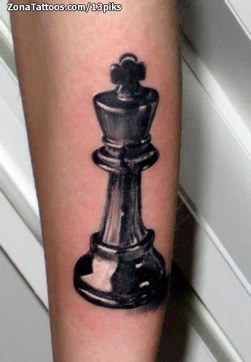 tatuajes y dise 241 os sobre ajedrez