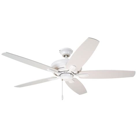 home depot emerson ceiling fans emerson ashland 52 in satin white ceiling fan cf717sw