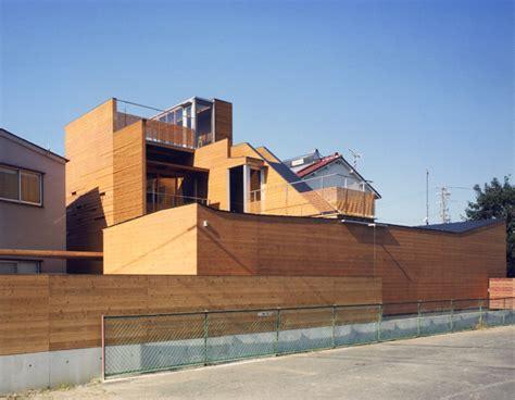 japanisches design japanisches holzhaus hof multi level decks und einem loft