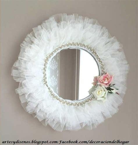 como decorar un espejo en forma de corazon ideas para decorar con espejos decoraci 243 n del hogar