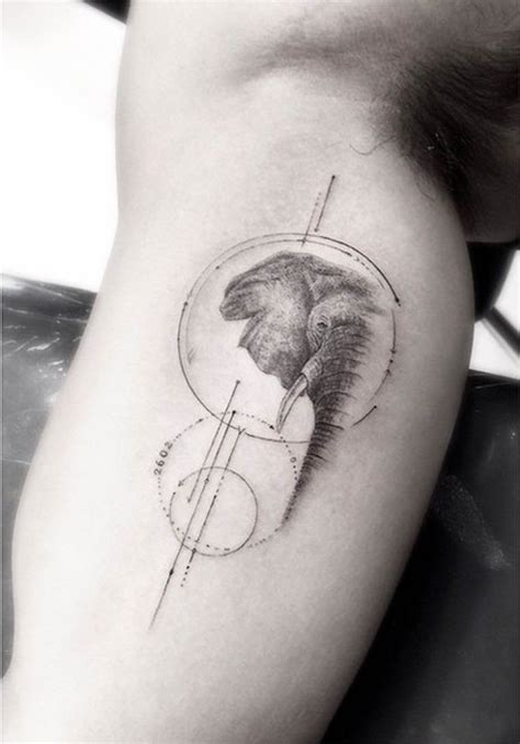 panda elephant tattoo elephant tattoos for men ideas for guys and image