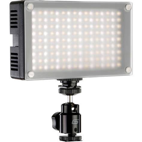 light cameras genaray led 6200t 144 led variable color on led