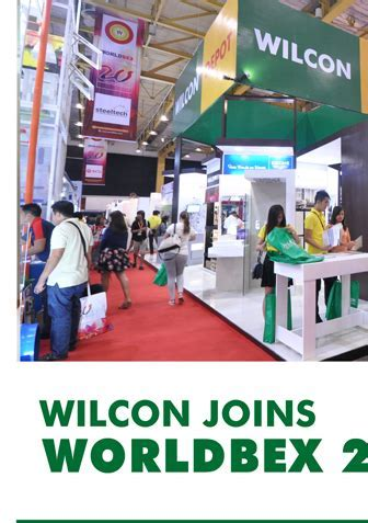 WILCON JOINS WORLDBEX 2015   News and Events