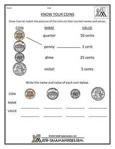 free printable math money worksheets search results