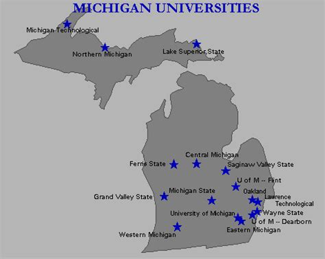 Best Mba Colleges In Michigan by Mccrma Gt Links Gt Michigan Universities