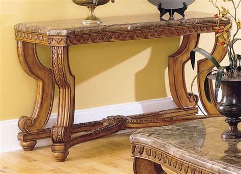 marble sofa tables homelegance tarantula sofa table marble top 5543 05