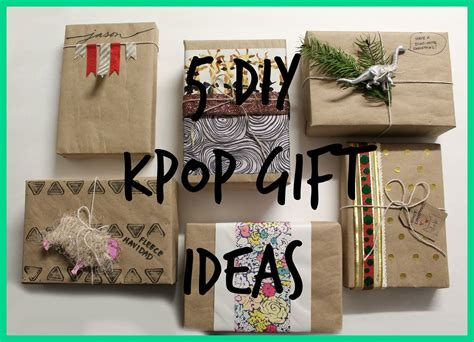 gift for book fan diy kpop gift guide regalos para fans de kpop kpop