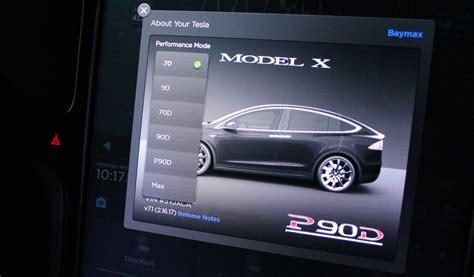Tesla Egg Tesla Model S Performance Mode Easter Egg Ebenfalls Im