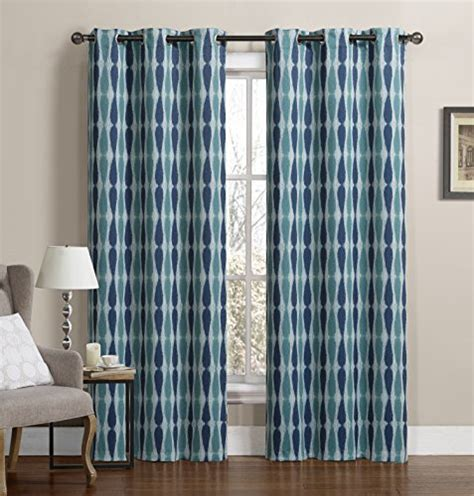 printed blackout curtains ruthy s textile 2 piece printed thermal blackout window