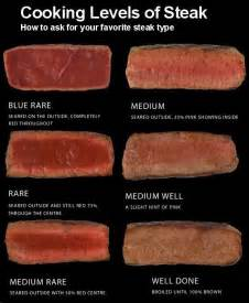 cooking levels of steak kitchen tips pinterest