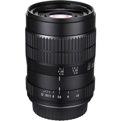 Laowa 60mm F2 8 2x Ultra Macro Lens For Nikon F venus optics laowa 60mm f 2 8 2x ultra macro lens ven6028n b h