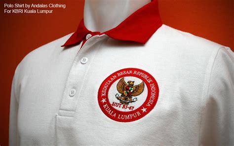 Tshirt Kaos 71th Hut Ri grosir kaos polos berkwalitas denpasar bordir dan sablon